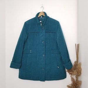 Tradition | VNT Teal Winter Coat Size Petite Large